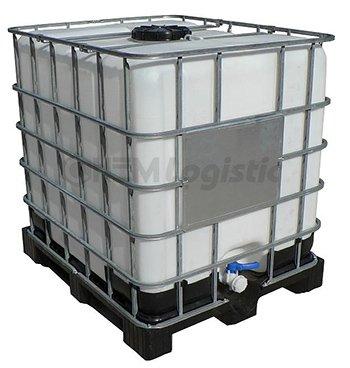 Síran hlinitý tekutý kontejner 1000 l